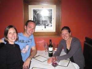 Dinner at Metropolis Cafe