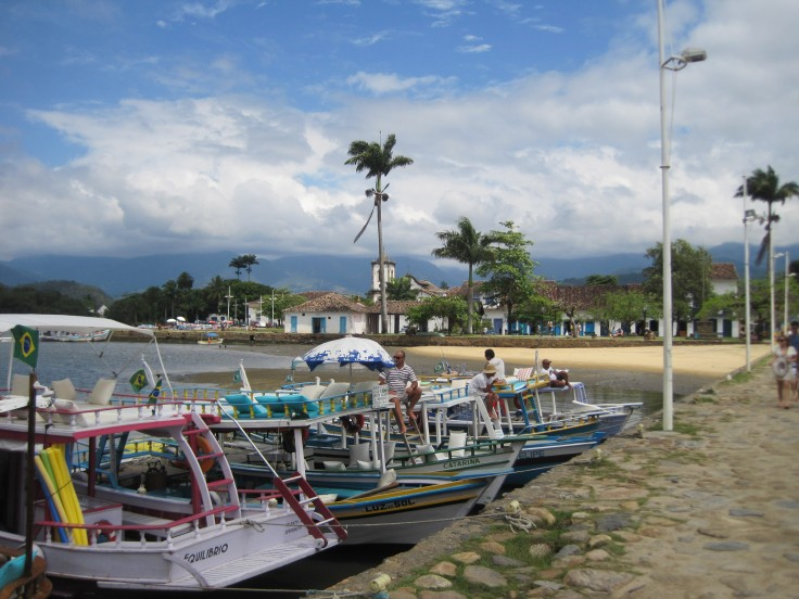 Quay in Paraty, Brazil.