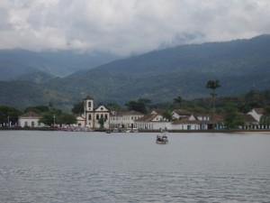 Paraty from the boat.