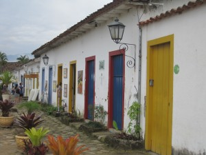 Doors in Paraty Brazil