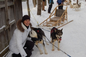 Dog Sledding friends