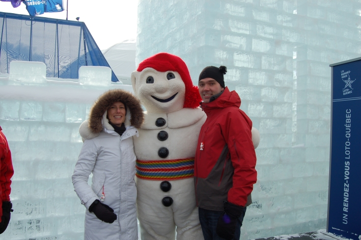 Our minute with Bonhomme.