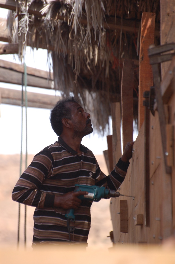 Building a Dhow in Sur, Oman