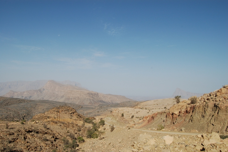 Mountains around Jebel Shems