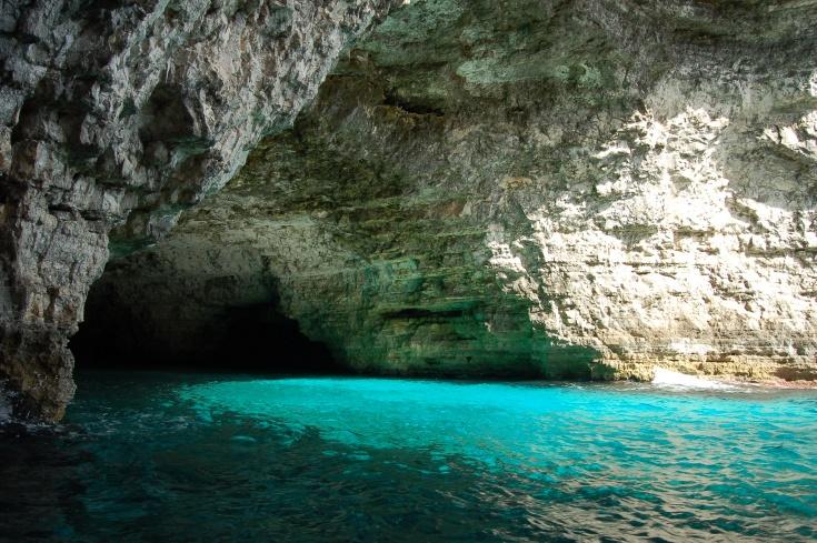 Cave on Comino, Malta
