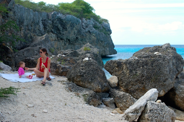 Picnic at Playa Knepa Curacao
