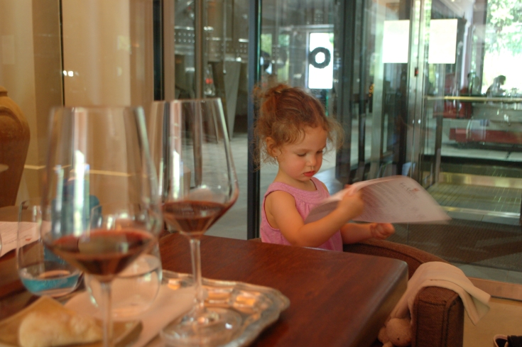 Toddler Sommelier