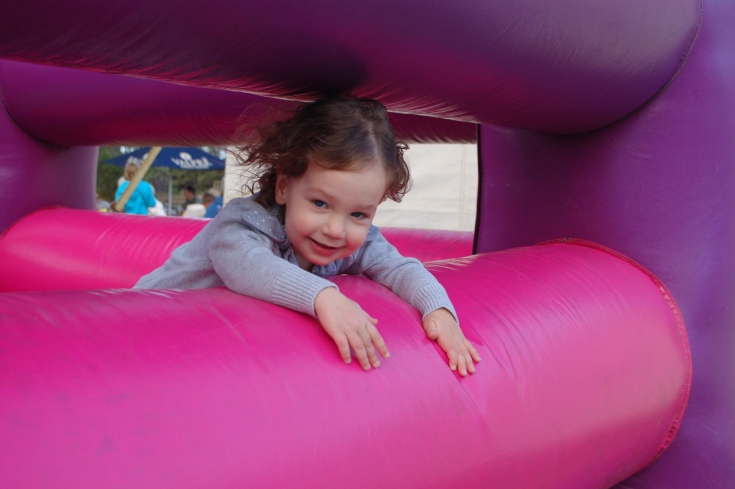 Bouncy castle, The Range Cape Town